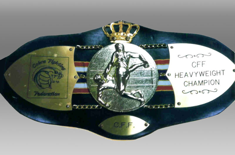 CFF Champion Belt